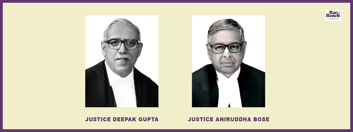 Deepak Gupta and Aniruddha Bose