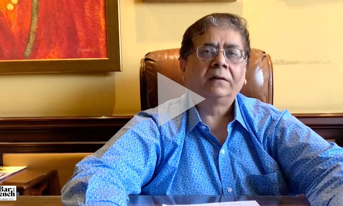 [In Camera] The law firm model has fundamentally been challenged: Cyril Shroff  [Video]