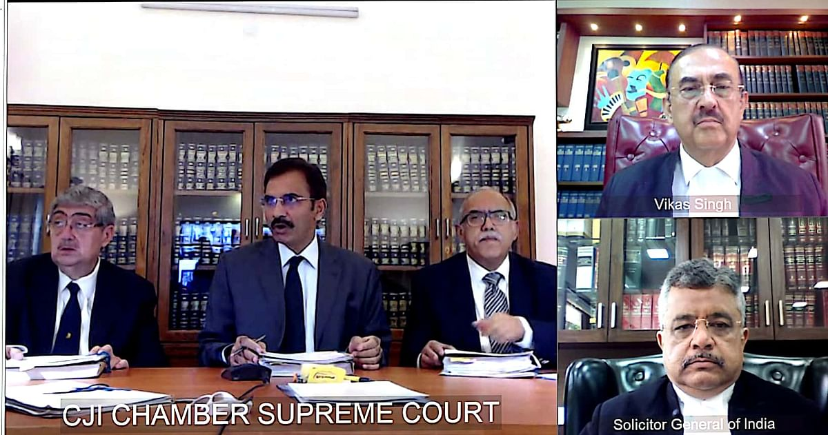 Bench headed by Justice L Nageswara Rao VC - 07.04.2020