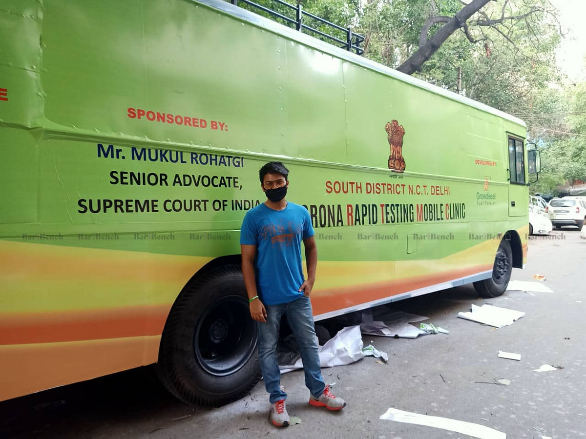 Bus donated by Mukul Rohatgi