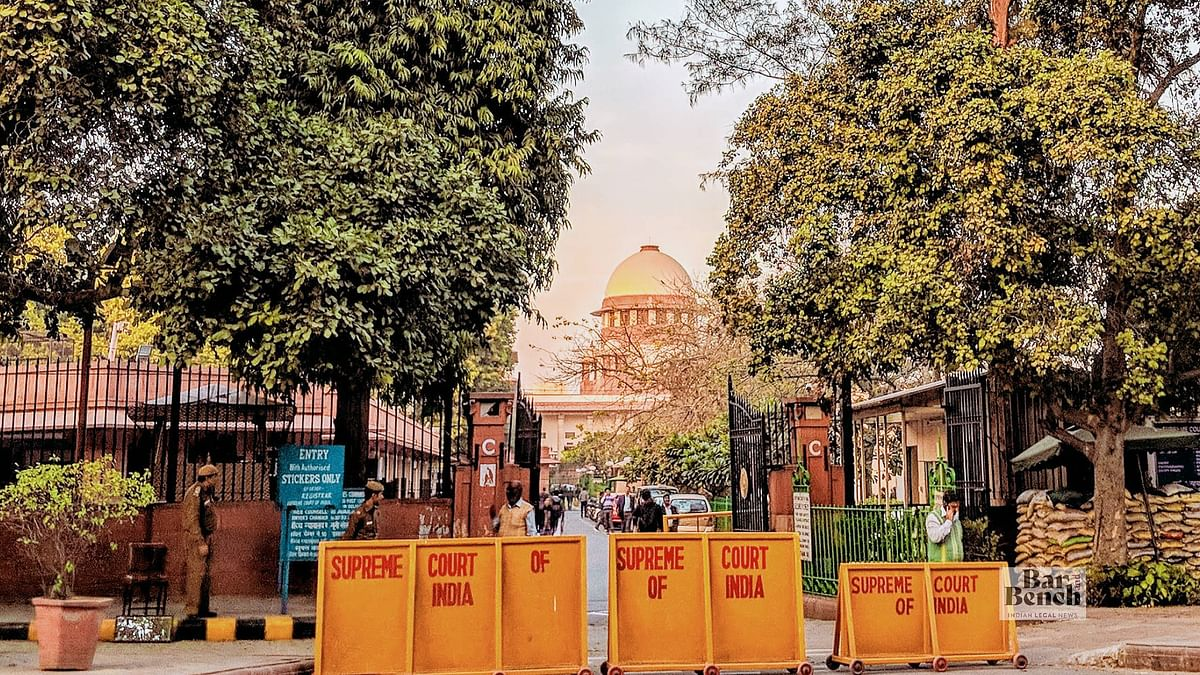 Allegations of partiality and favouristism in Registry: Supreme Court dismisses petition, imposes costs of Rs 100 on petitioner