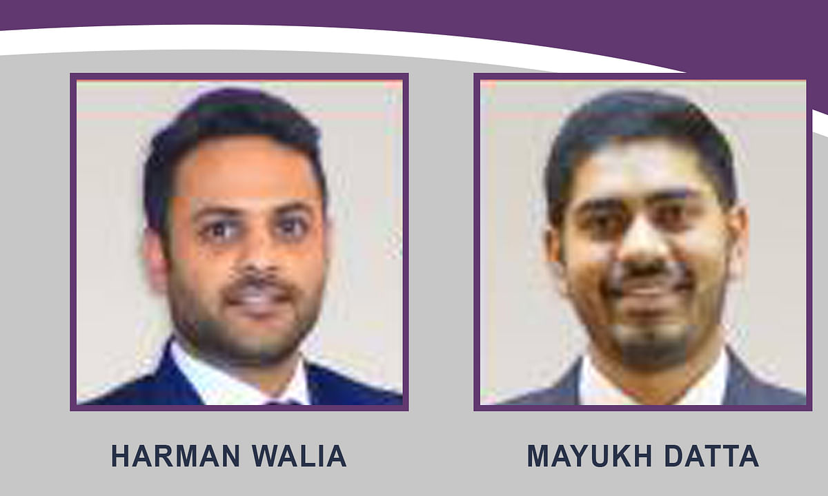 IndusLaw promotes Harman Walia and Mayukh Datta to partnership