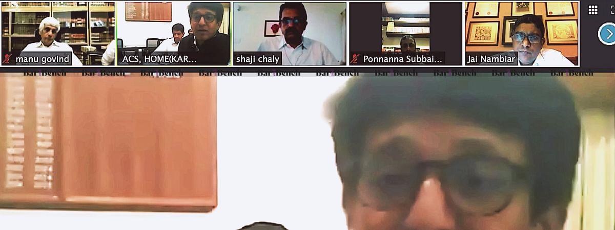 Kerala Zoom Hearing
