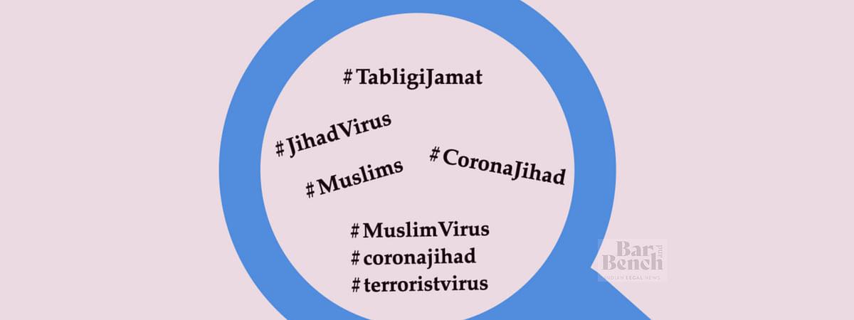 Communal Hashtags on Twitter during Tabligi Jamat crisis