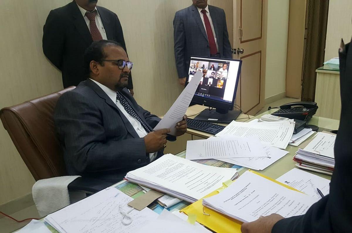 Chief Justice of Andhra Pradesh High Court, Justice JK Maheswari