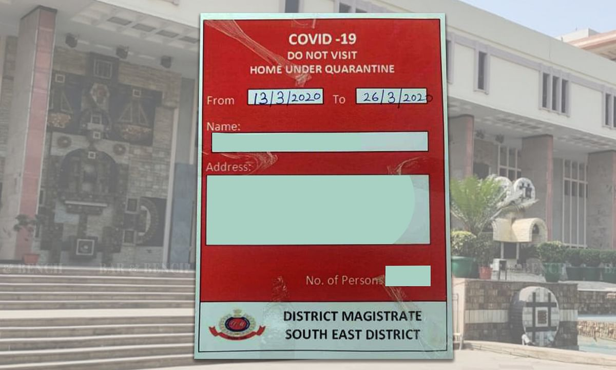 For each and every case, it cannot be held that the period of home quarantine must stand limited to 14 days only: Delhi HC