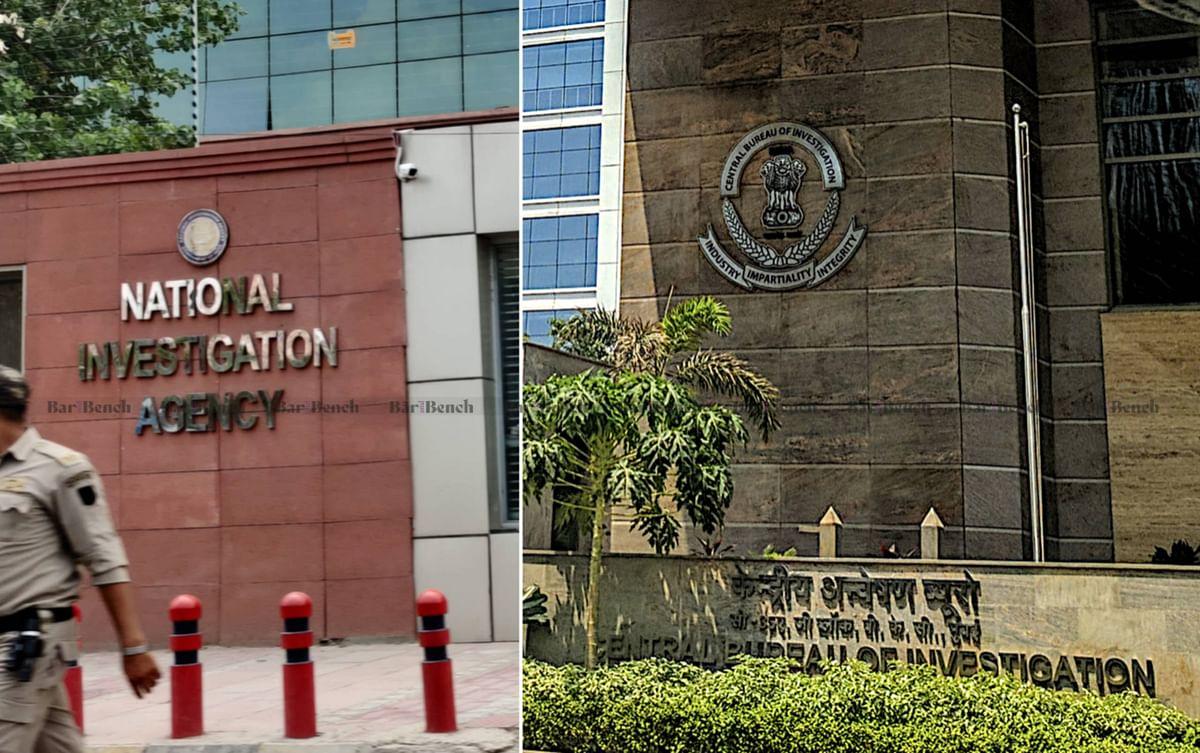 NIA and CBI are India's premier investigative agencies