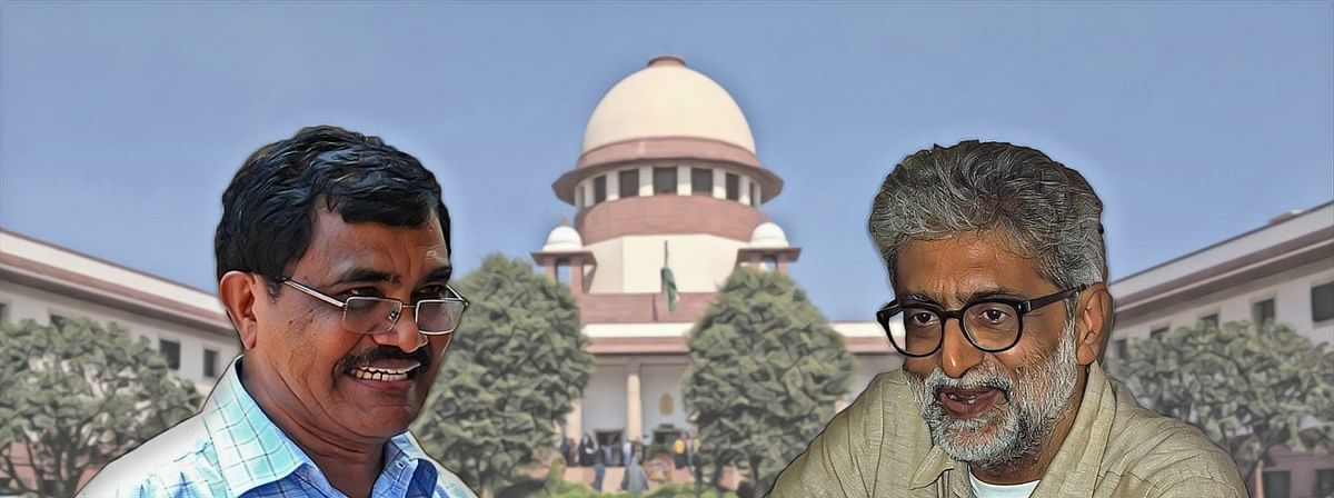 Bhima Koregaon: SC extends interim protection for Gautam Navlakha, Anand Teltumbde by 1 week, says no further extension will be granted