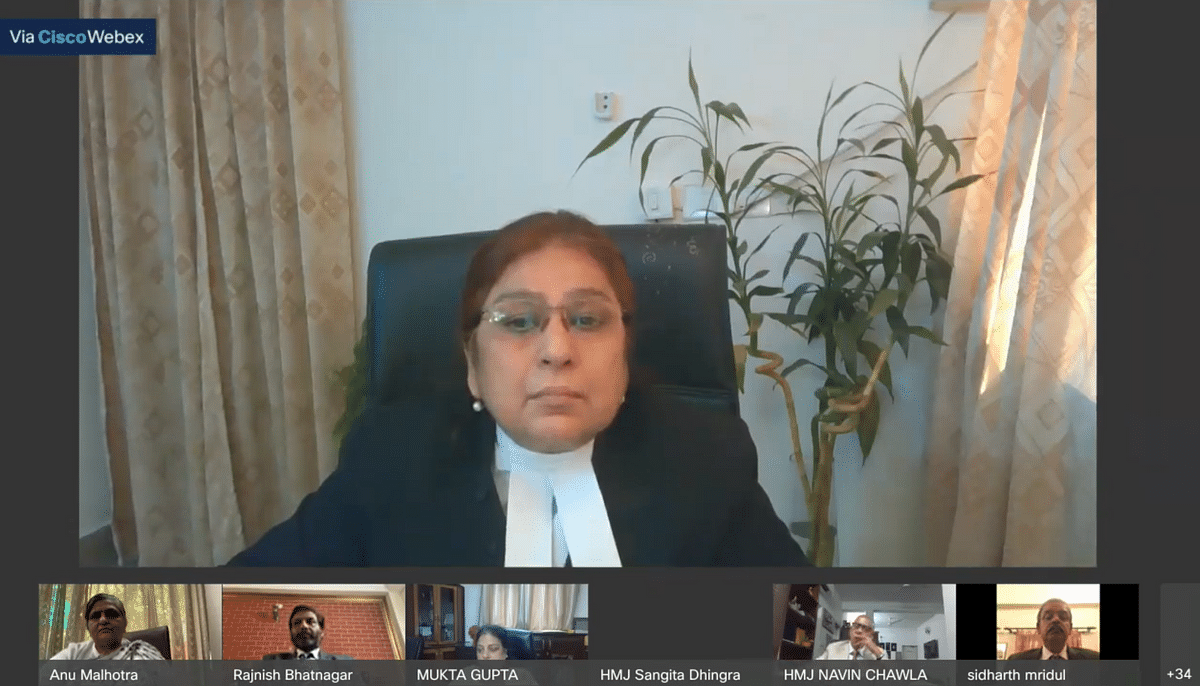 Delhi High Court holds first e-Farewell Reference; Bids adieu to Justice Sangita Dhingra Sehgal