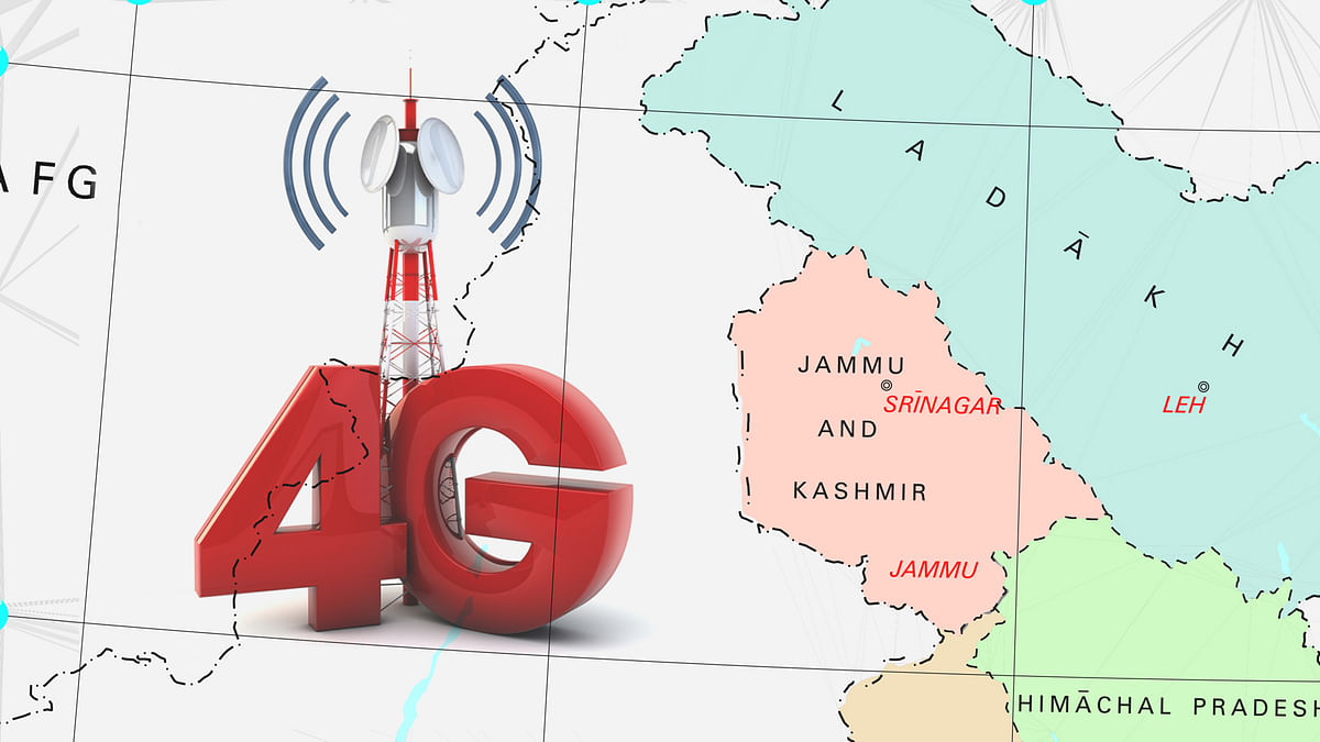 J&K Govt restore 4G internet in two districts on trial basis till September 8