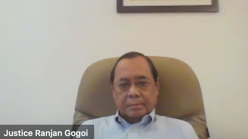 System not averse to criticism, but be dignified in your attack: Former CJI Gogoi during CAN Foundation Webinar on Judicial Independence