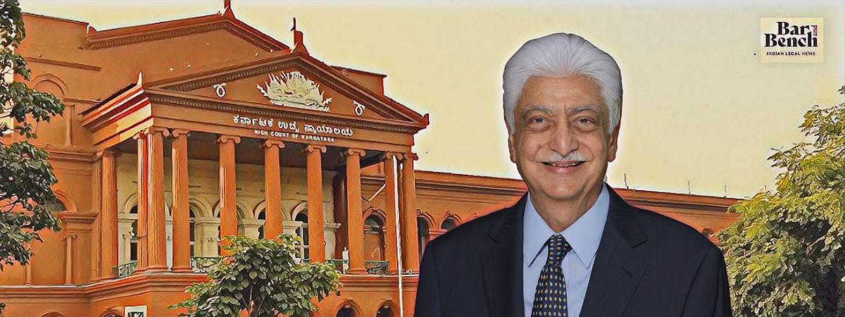 Karnataka High Court and Azim Premji