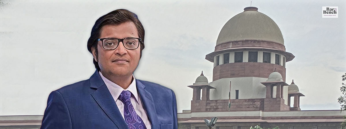 "[Breaking] ""Concerted action by a political party against a journalist"", Arnab Goswami claims; Supreme Court reserves its order"