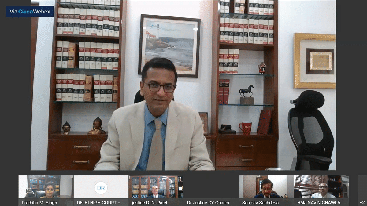 Justice DY Chandrachud e-inaugurates two virtual courts for 'Traffic challans Captured via Cameras'