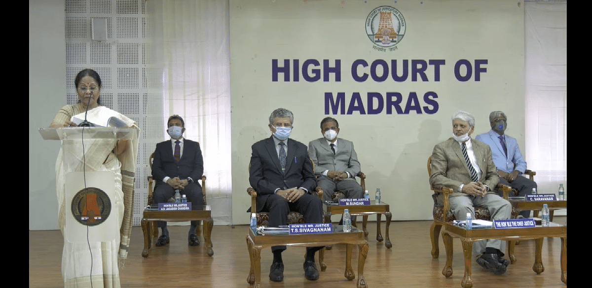 Justice Pushpa Sahyanarayana rendered the concluding address
