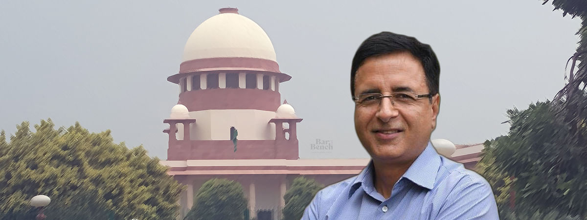 Randeep Surjewala moves plea to intervene in suo motu case registered by Supreme Court over Migrant Crisis amid the COVID-19 pandemic