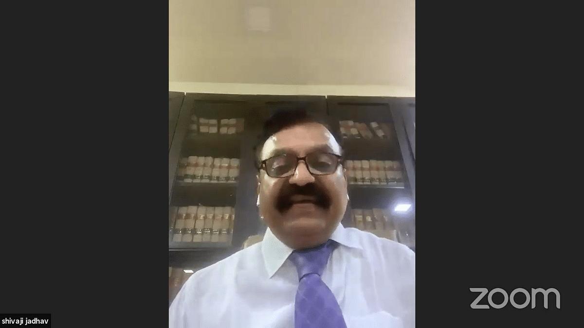 SCAORA President, Shivaji Jadhav