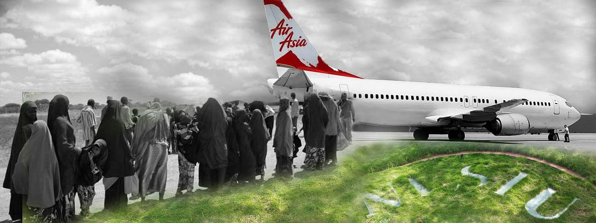 NLSIU, Migrants, Air Asia