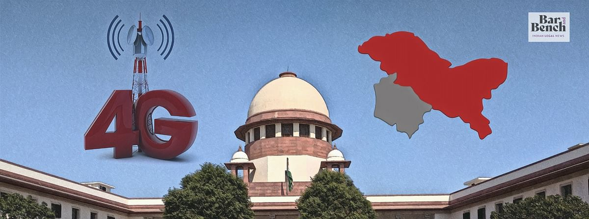 Special Committee to assess need for Internet Restrictions in Kashmir still not set up by Government: Contempt plea filed in Supreme Court
