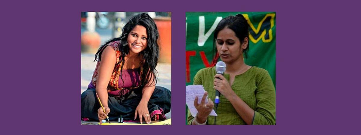 Pinjra Tod Activists Natasha Narwal and Devangana Kalita