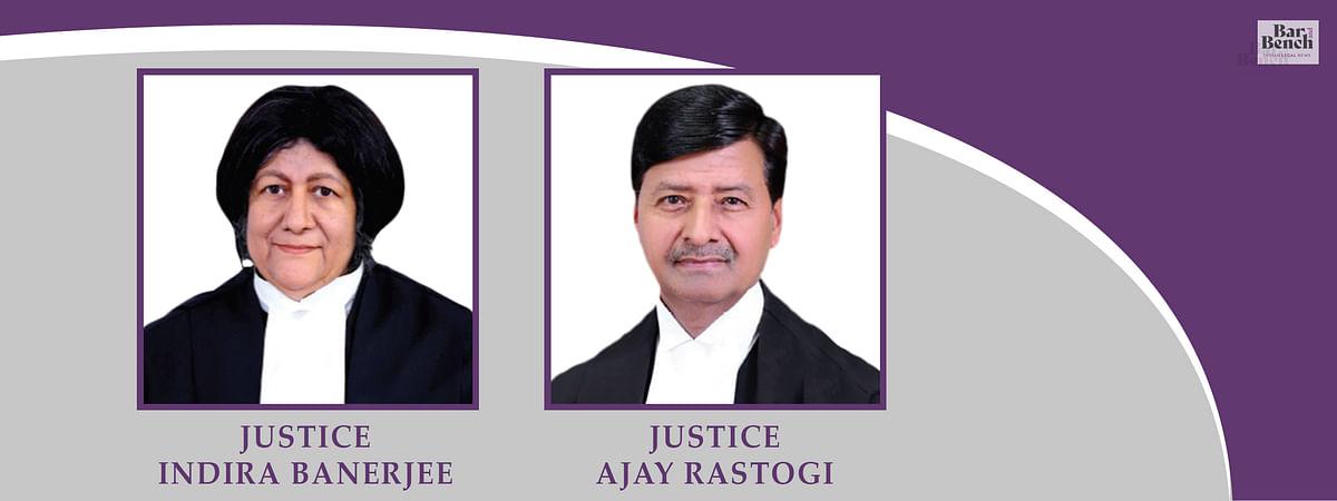 Indira Banerjee and Ajay Rastogi
