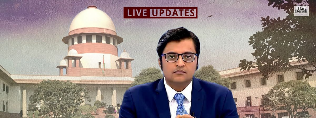 """Police is trying to teach a lesson"", Harish Salve argues FIR against Arnab Goswami is malafide - Live Updates from Supreme Court"