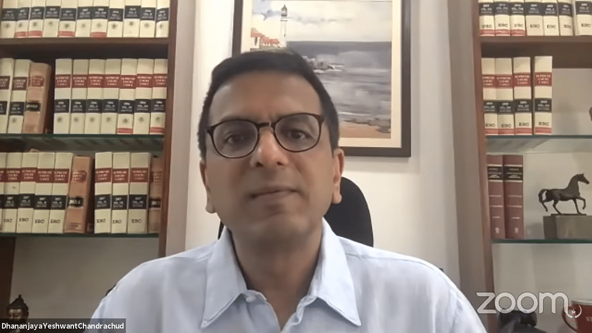 Virtual Courts are not a substitute for open Court hearings, had to be resorted to in the pandemic: Justice DY Chandrachud