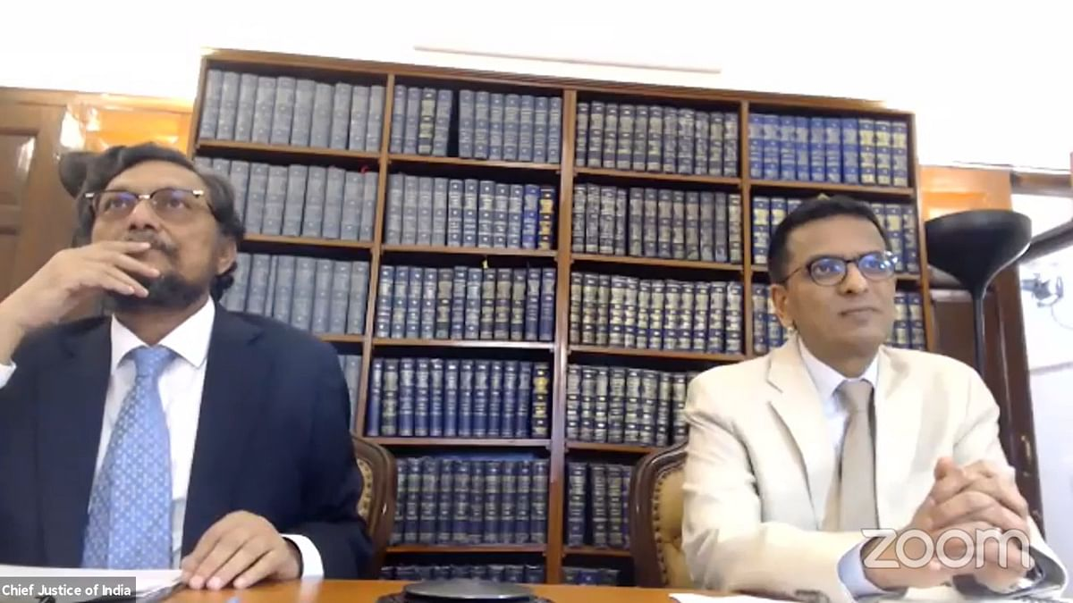 """""""E-filing the first step in moving towards the system of e-Court"""", CJI Bobde says during online demo for proposed e-filing module"""