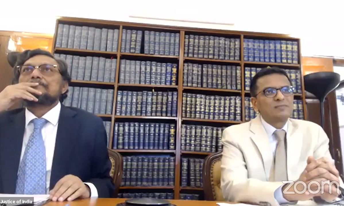 """E-filing the first step in moving towards the system of e-Court"", CJI Bobde says during online demo for proposed e-filing module"