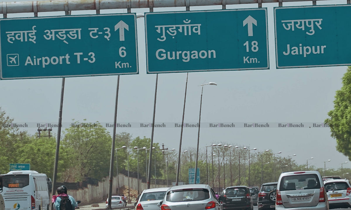 Movement of persons offering essential services allowed at Delhi-Haryana border on e-pass: Haryana Govt undertakes before Delhi HC