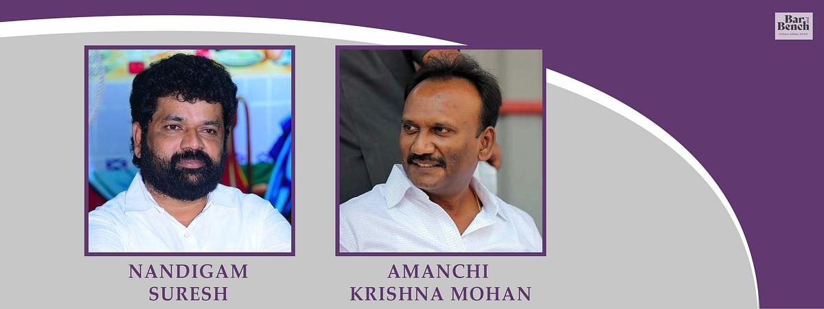 Nandigam Suresh, Amanchi Krishna Mohan