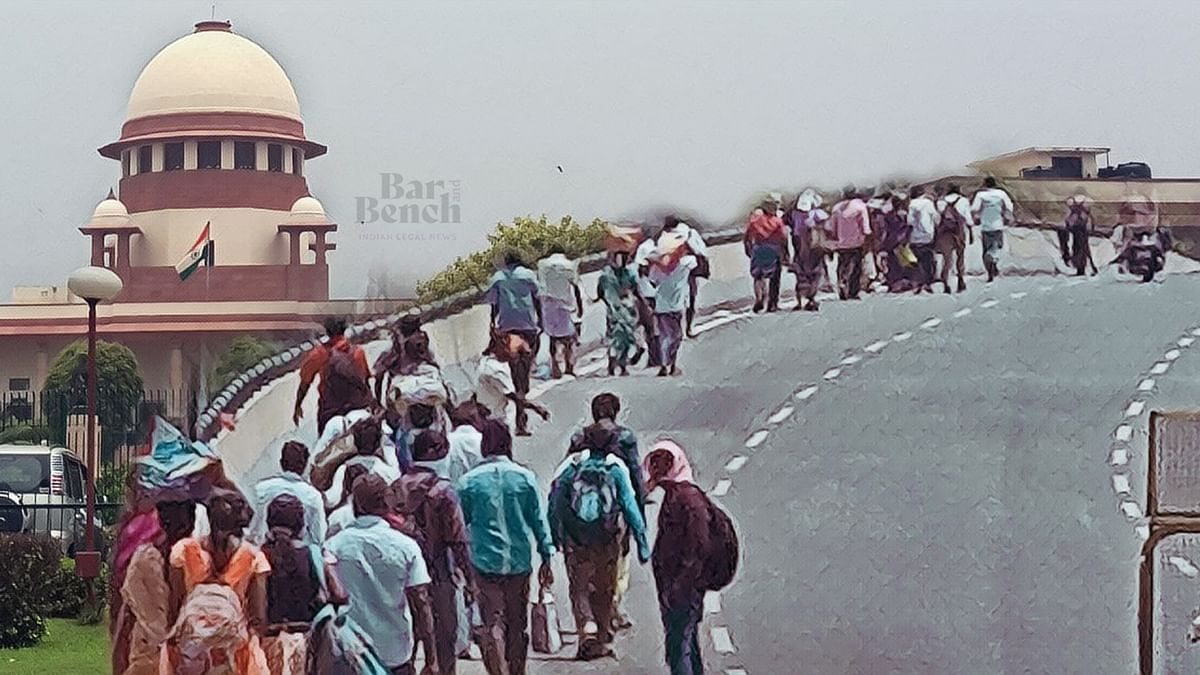 Our order is very clear that all stranded migrants need to be transported within 15 days: Supreme Court in Suo Motu COVID-19 Migrants case