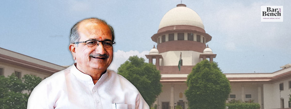 Breaking: Bhupendrasinh Manubha Chudasama moves Supreme Court to quash Gujarat HC order nullifying his election to State Assembly