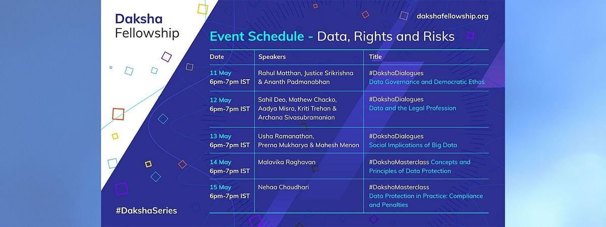 [Webinars] Daksha Fellowship organises Data Week from May 11- 15
