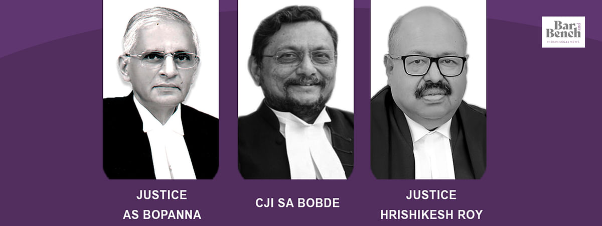 AS Bopanna, CJI SA Bobde, Hrishikesh roy