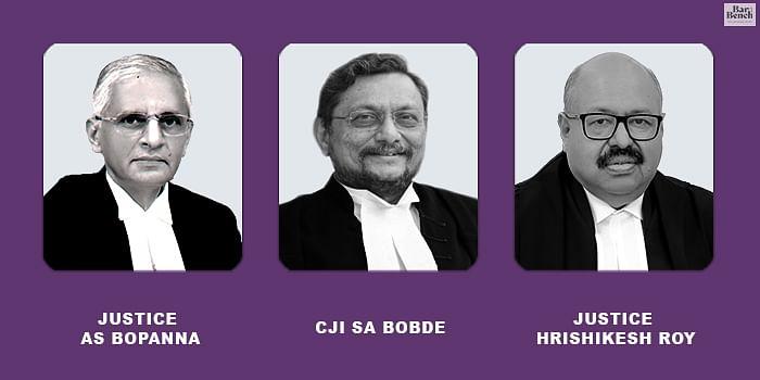 AS Bopanna, CJI SA Bobde and hrishikesh Roy