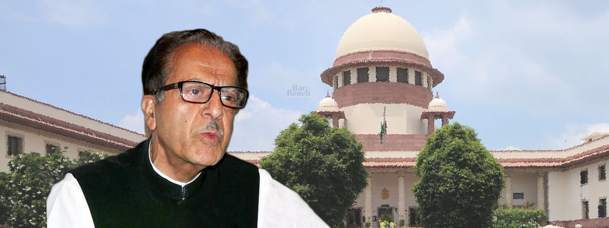 Habeas Corpus petition filed for Saifuddin Soz was heard by Supreme Court today