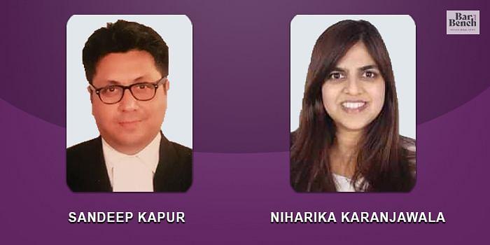 Sandeep Kapur, Niharika Karanjawala