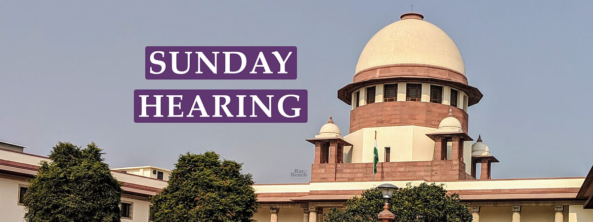 [BREAKING] Supreme Court Vacation Bench to hold Sunday Evening Hearing on Plea seeking cancellation of Rajasthan State Board Exam