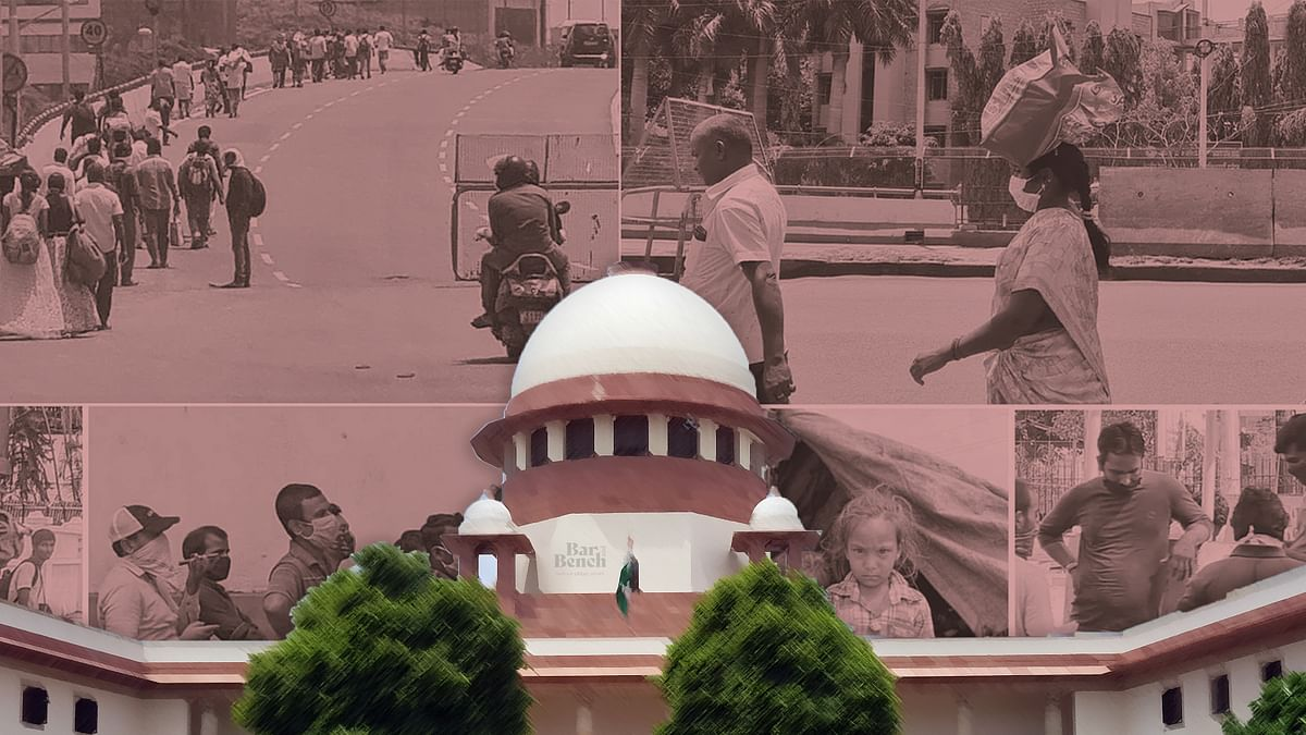 [Breaking] Transport stranded migrants within 15 days, set up help desks for employment opportunities: Supreme Court directs Centre, states