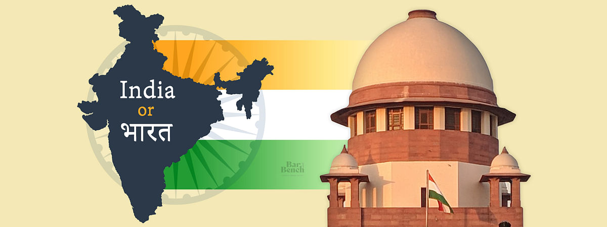 """India is already called Bharat in Constitution"": SC refuses to entertain plea for name change, allows it to be treated as representation"