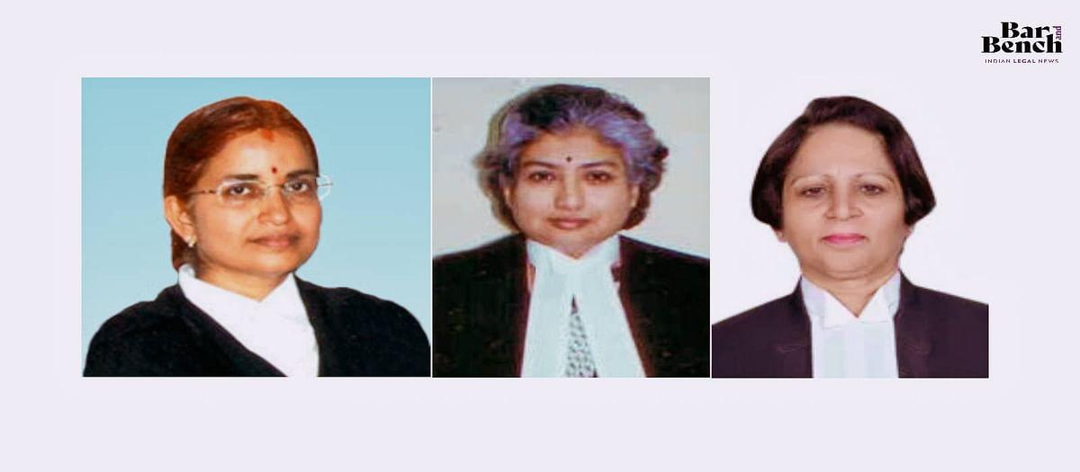 Left to Right: Justice Kumari Sanju Panda, Justice BV Nagarathna and Justice Sabina
