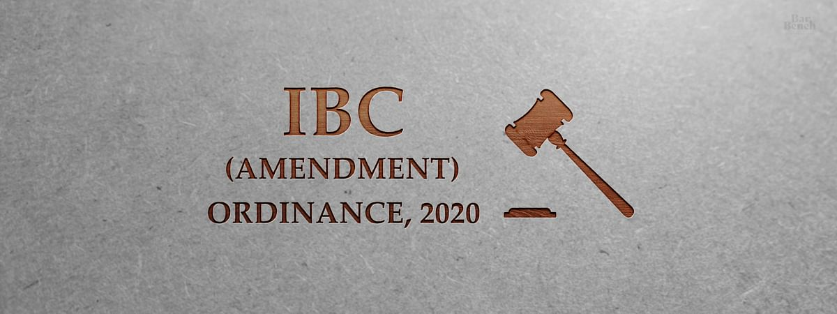IBC Amendment Ordinance, 2020: Some Questions and (Possible) Answers