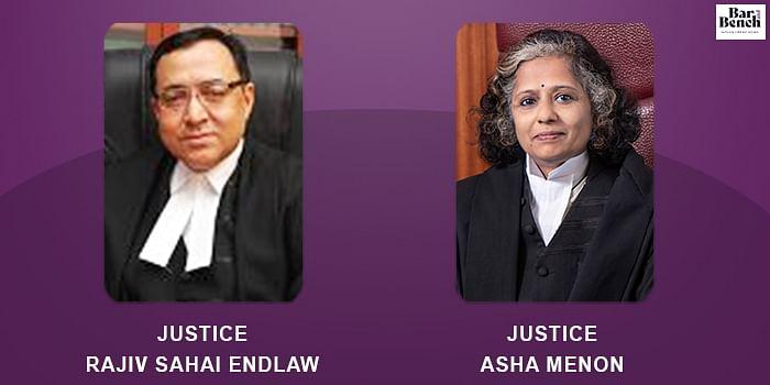 Justice Rajiv Sahai Endlaw, Justice Asha Menon