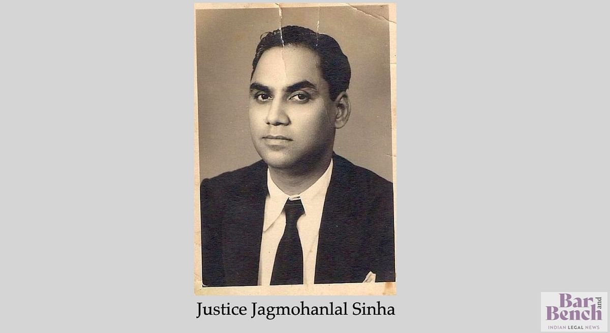 Justice Jagmohanlal Sinha of Allahabad High Court who delivered the judgment in Raj Narain vs Smt Indira Gandhi