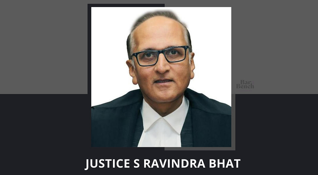 Justice Ravindra Bhat, who has advised against the use of 'Your Lordship' more than once.