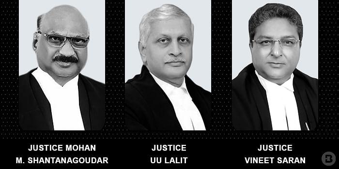 MM Shantanagoudar, UU Lalit, and Vineet Saran