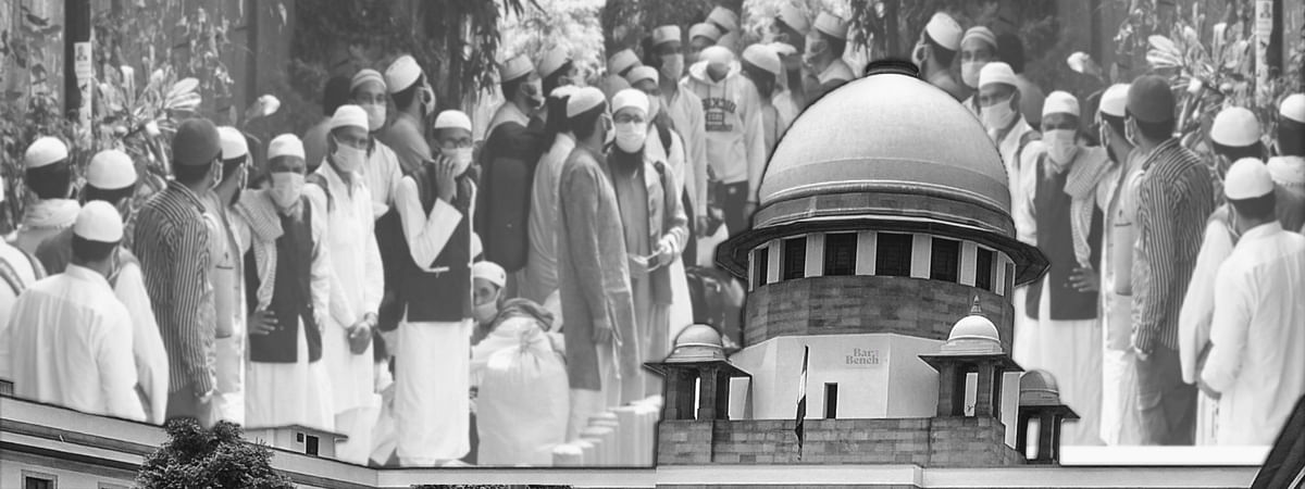 All blacklisted foreign nationals who were part of Tablighi Jamaat Markaz can make representations to authorities: Supreme Court