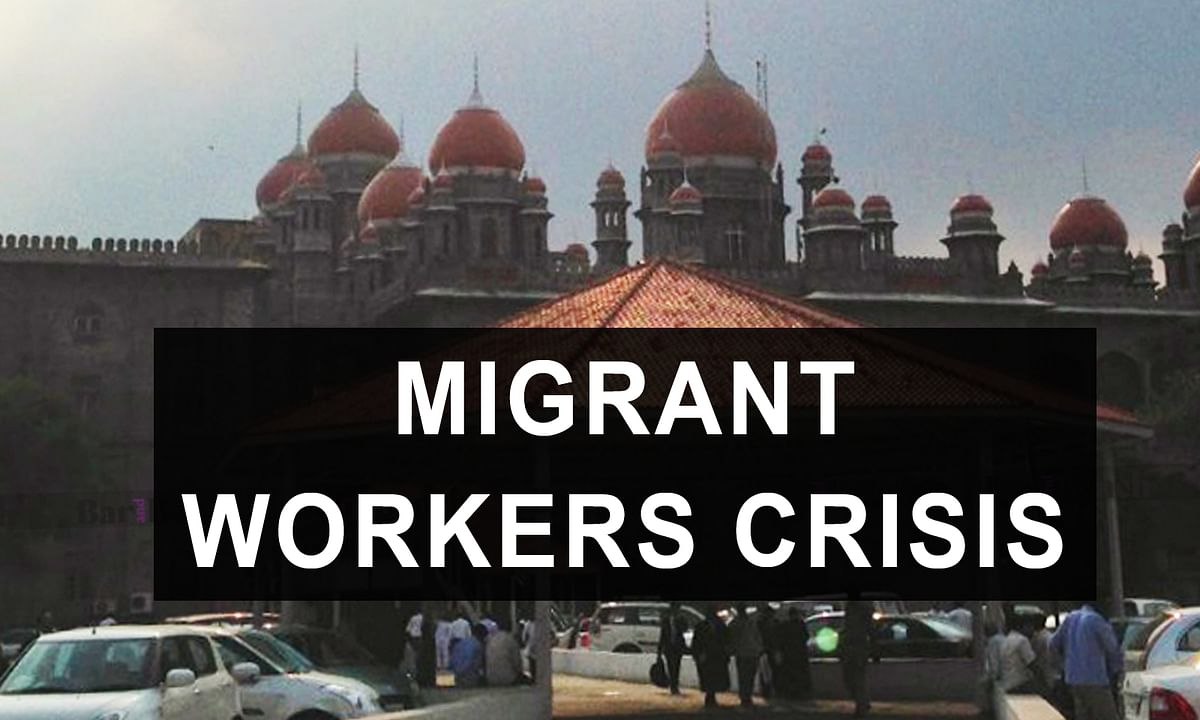 [Migrant crisis] Provide food, basic amenities for migrant workers, make registration process for travel back home simpler: Telangana HC