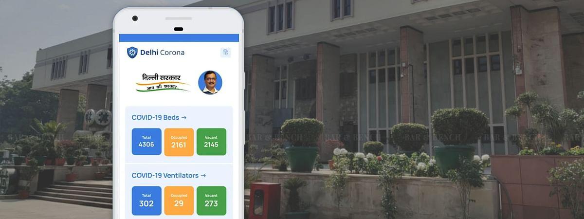 Delhi Corona App, Delhi HC